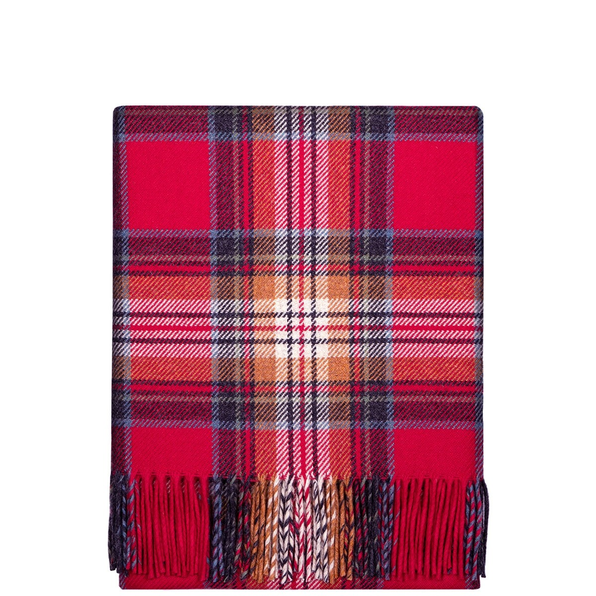 Fleur Stewart Berry Wool Blanket
