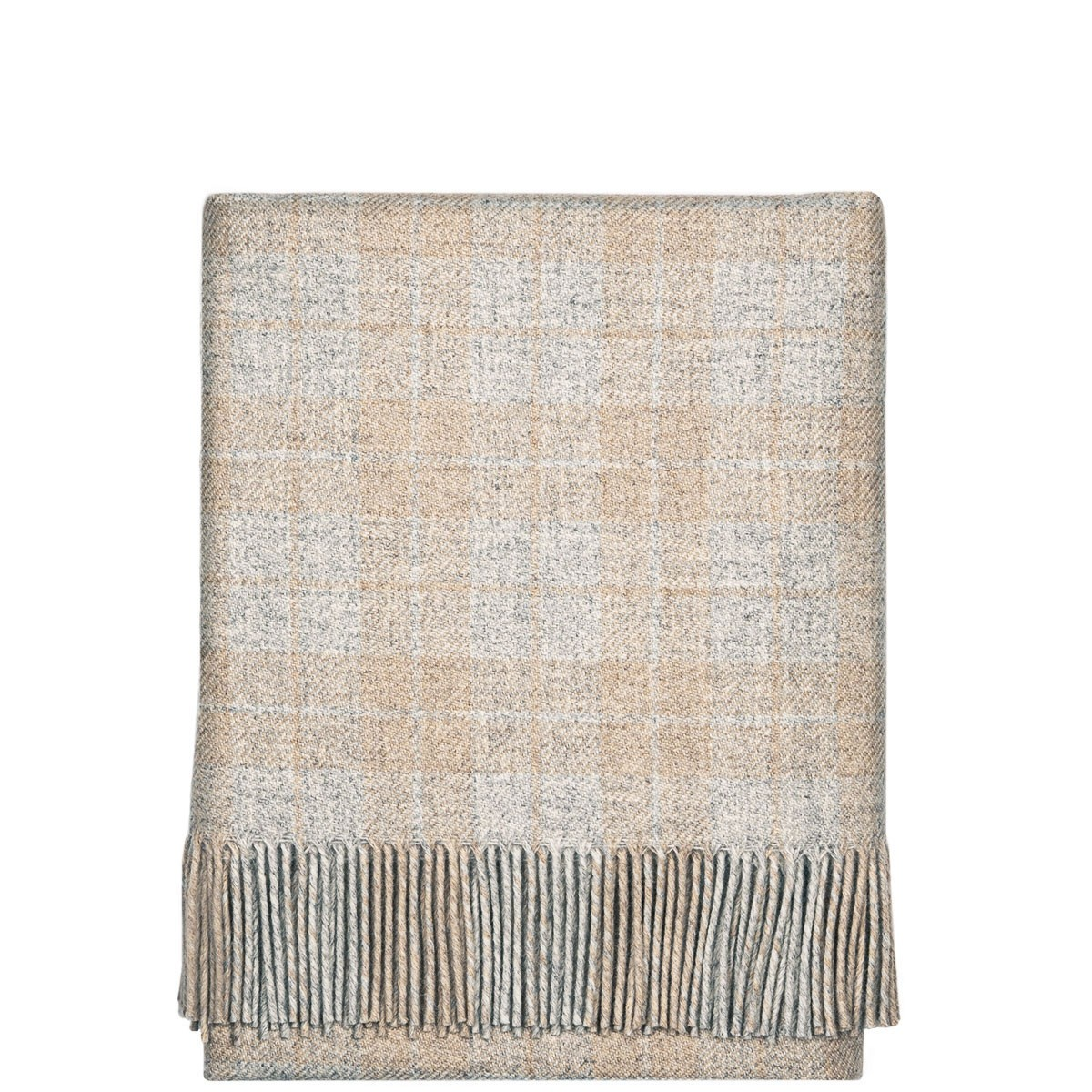 Fleur Natural Wool Blanket