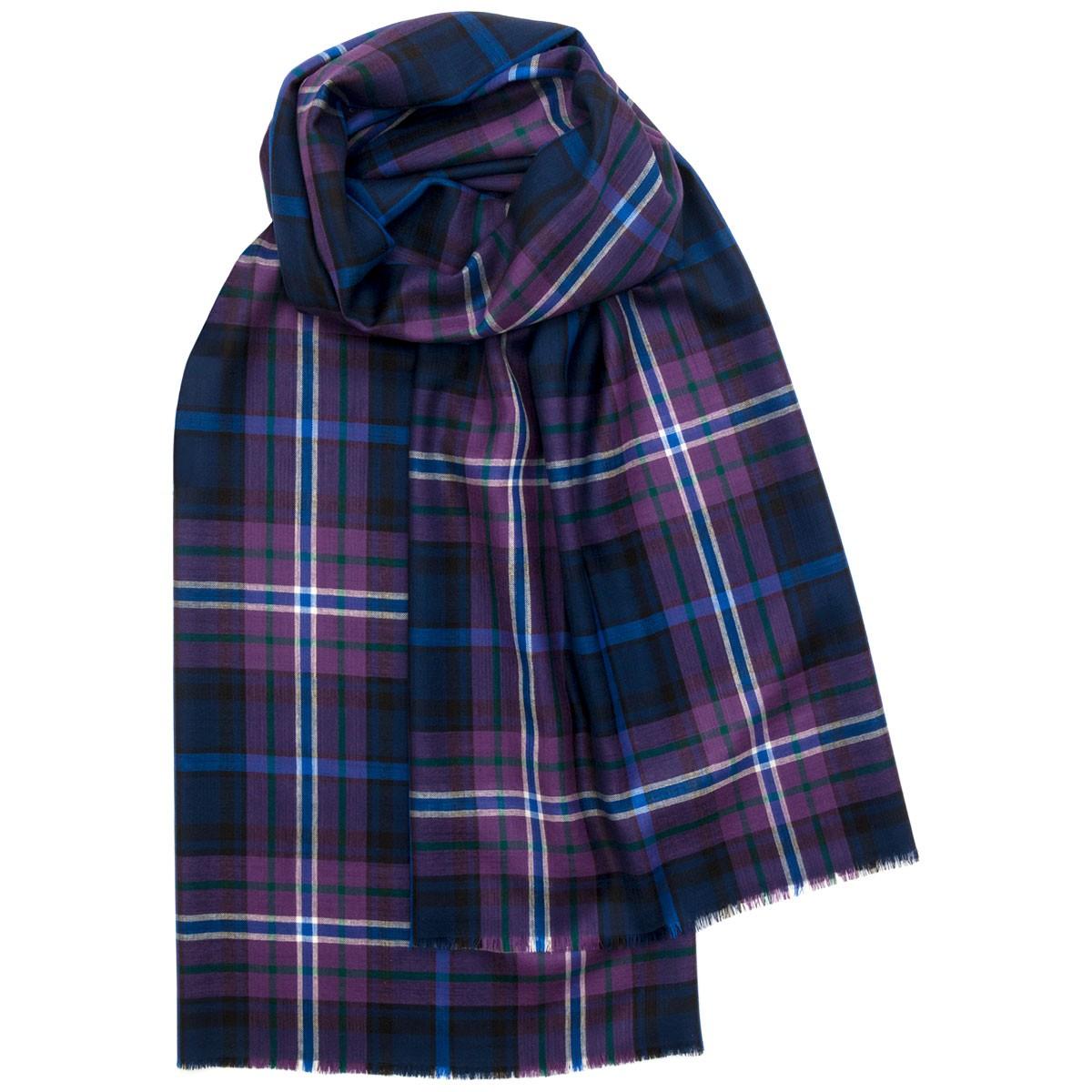Scotland Forever Modern Extra Fine Merino Stole
