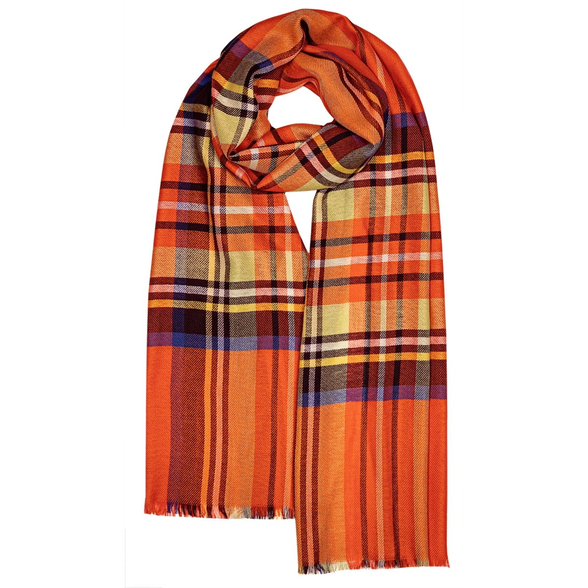Allie Stewart Ruby Luxury Scarf