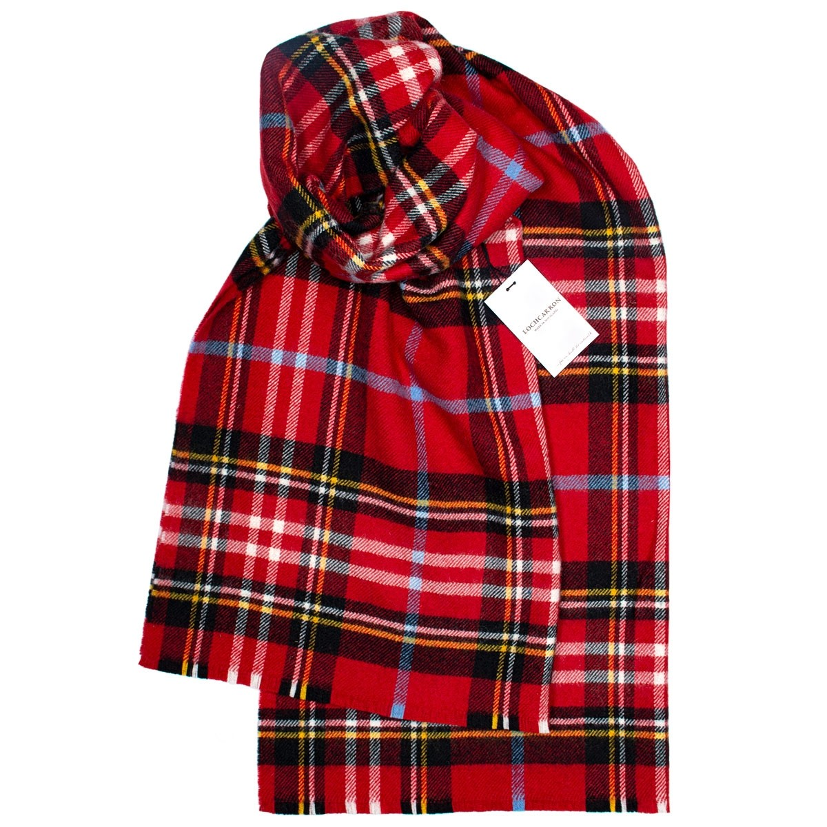 Coorie Scarlet Lambswool Stole