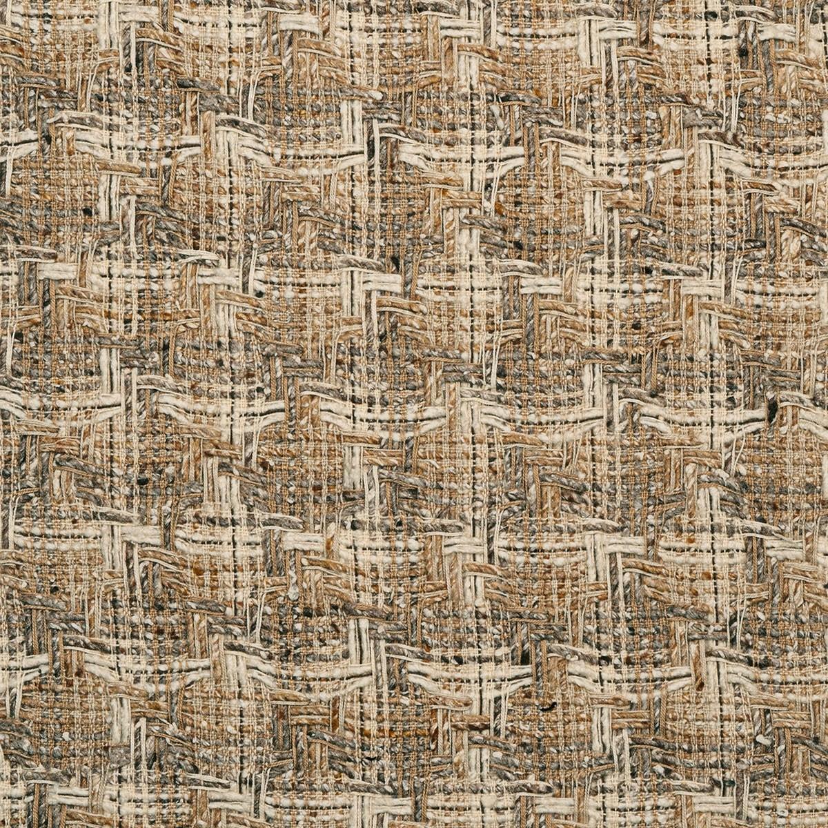 Donegal Camel/Cream Multi Wool Fabric