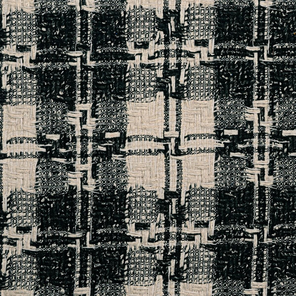 Erskine Black/White Multi Wool Tweed Fabric