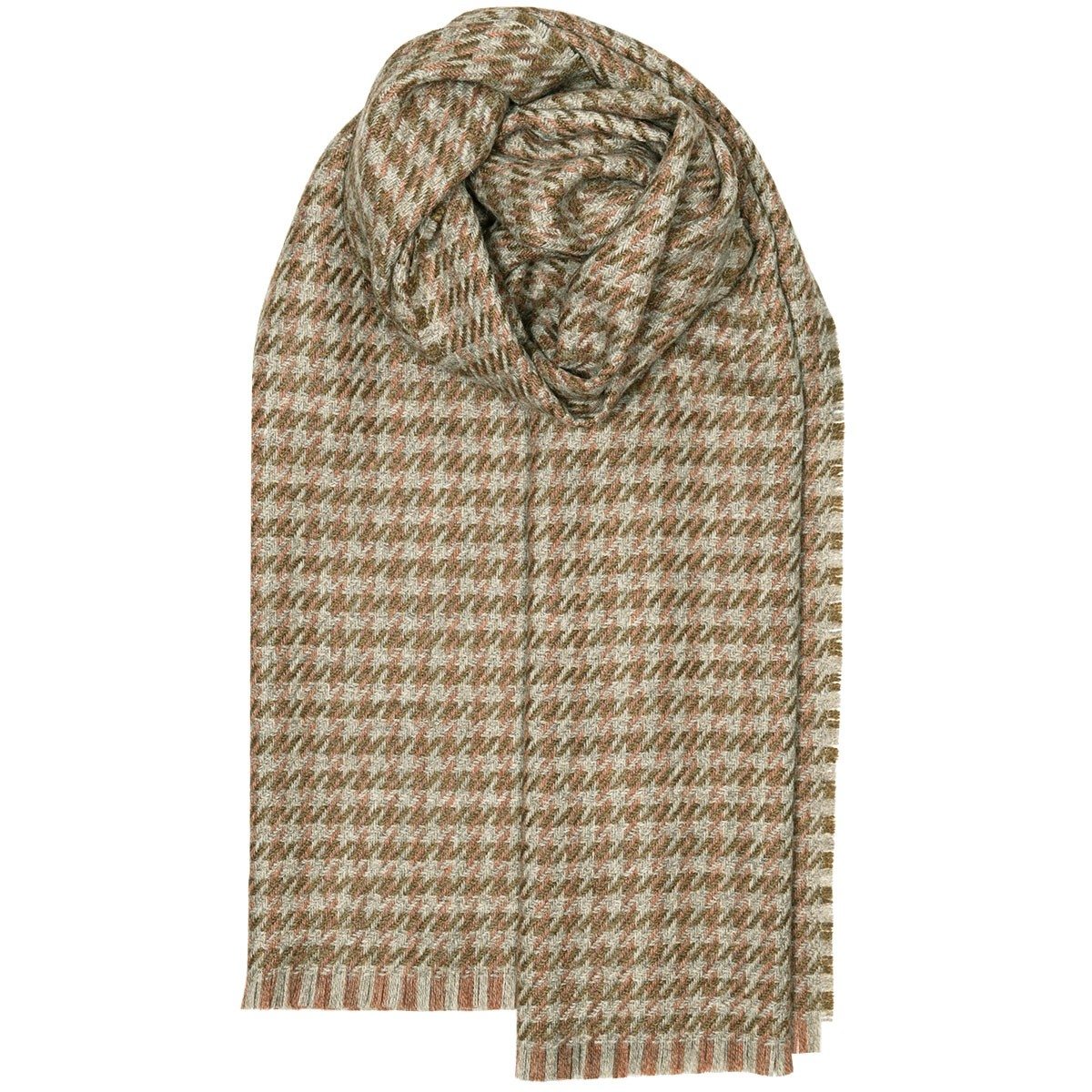 Fearne British Wool Corrie Blossom Stole