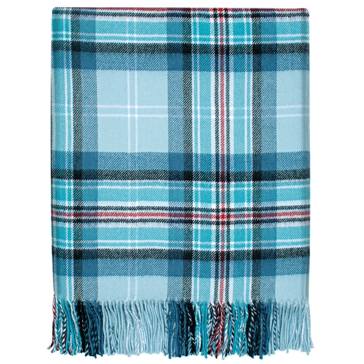 Diana, Princess of Wales Memorial Tartan Lambswool Blanket