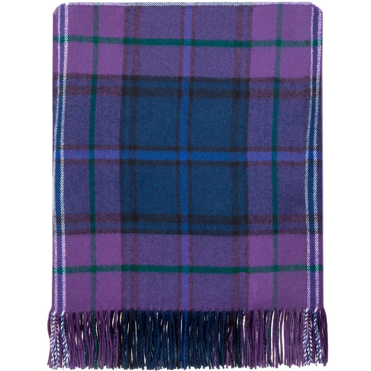 Scotland Forever Modern Lambswool Blanket