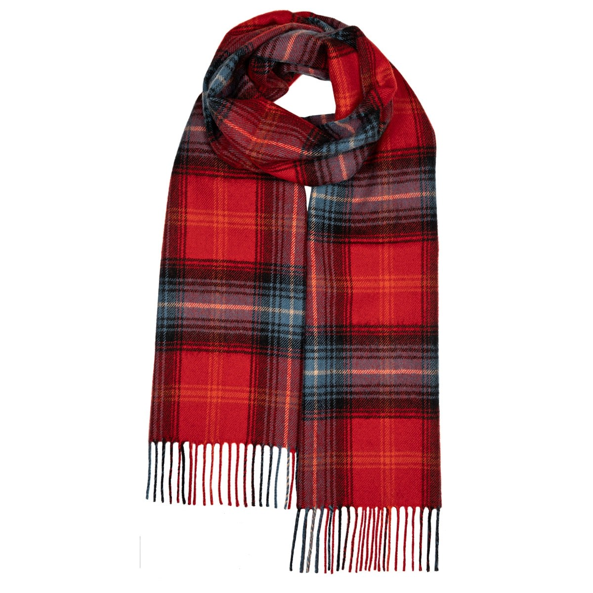Darwin Lochcarron Ruby Luxury Oversized Lambswool Scarf
