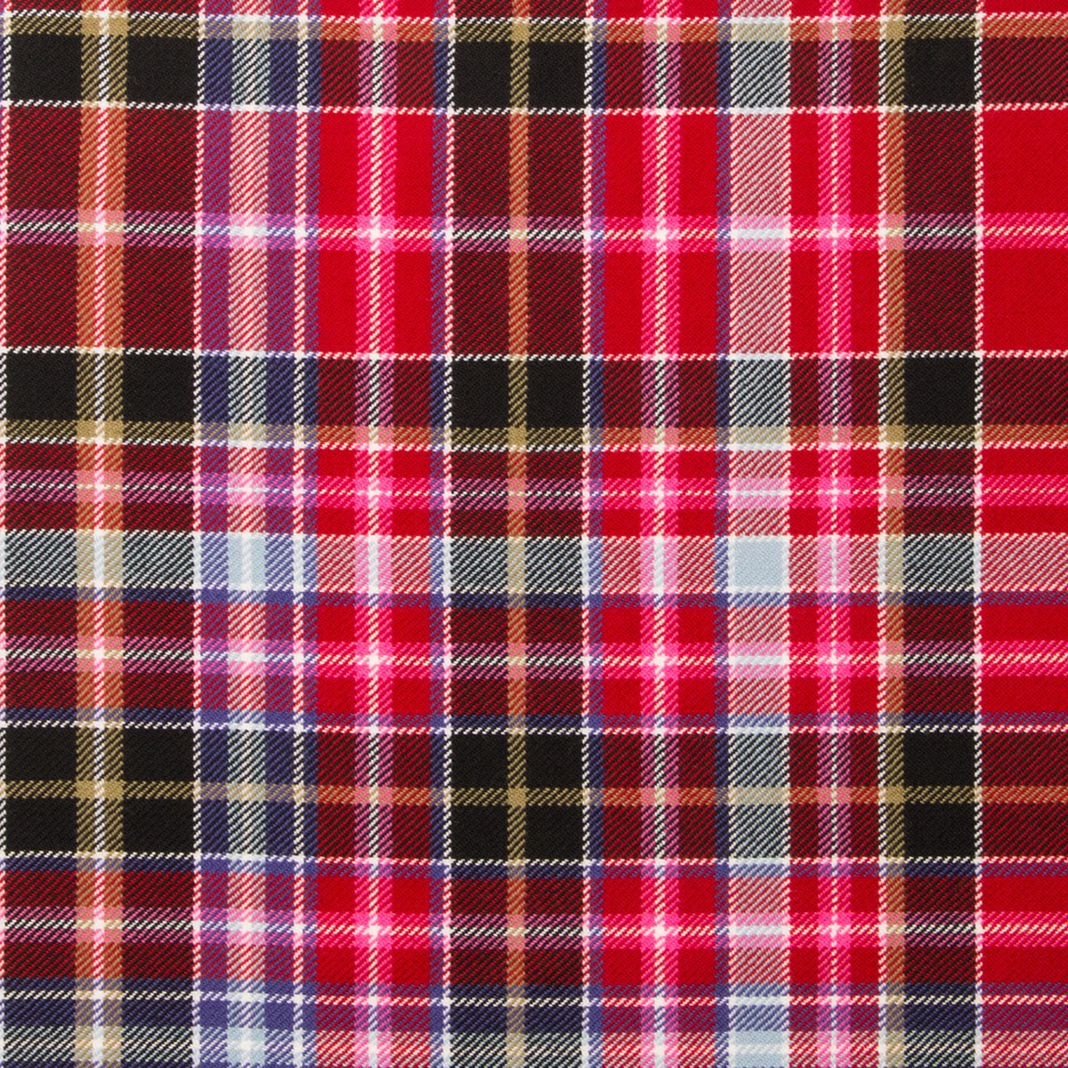 Aberdeen Light Weight Tartan Fabric-Front