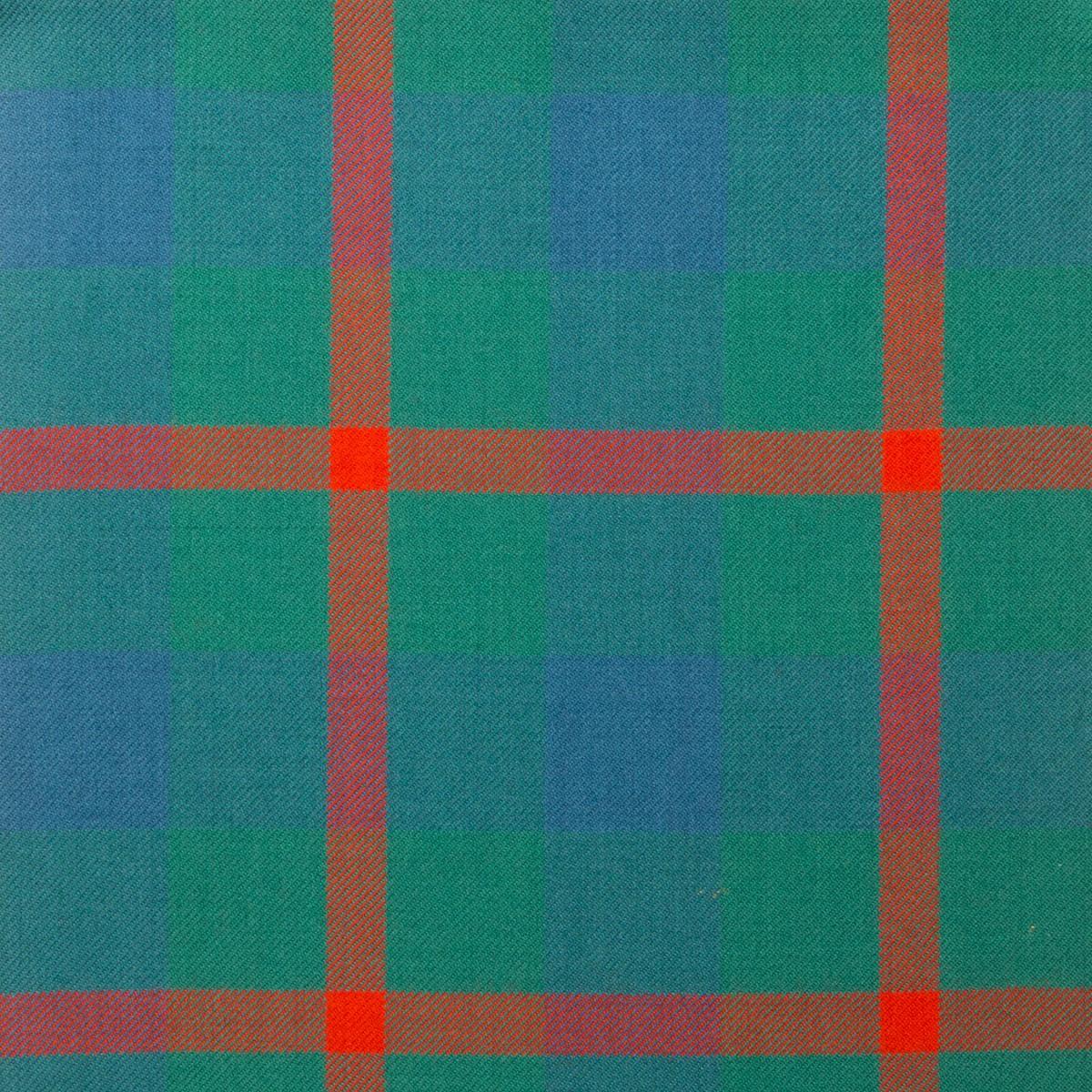 Agnew Ancient Light Weight Tartan Fabric-Front