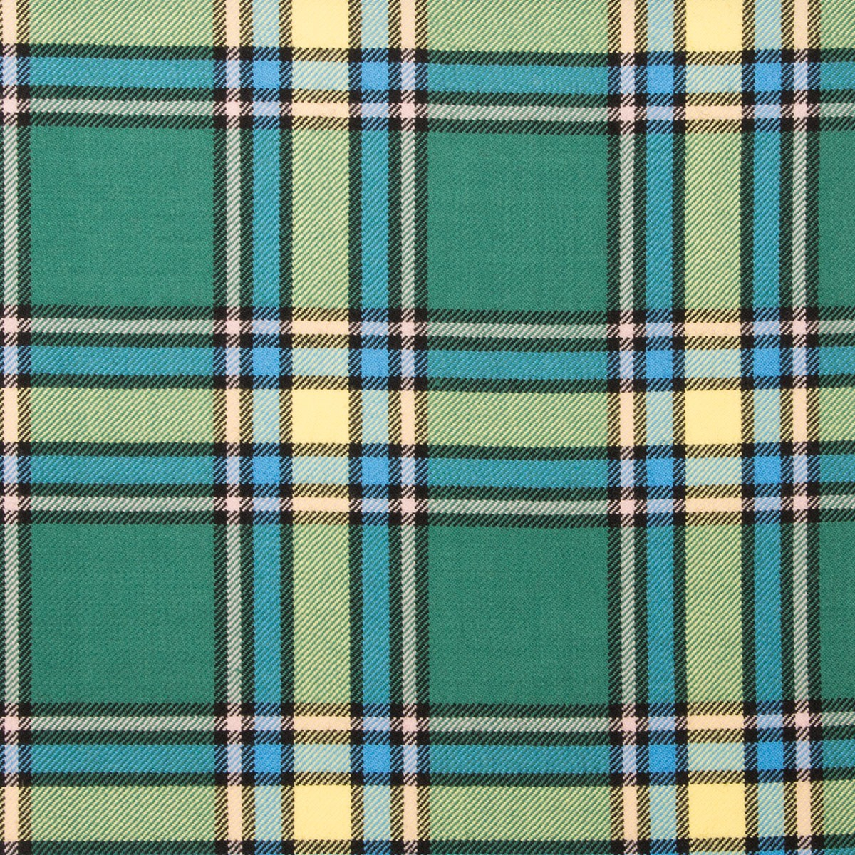 Alberta Light Weight Tartan Fabric-Front