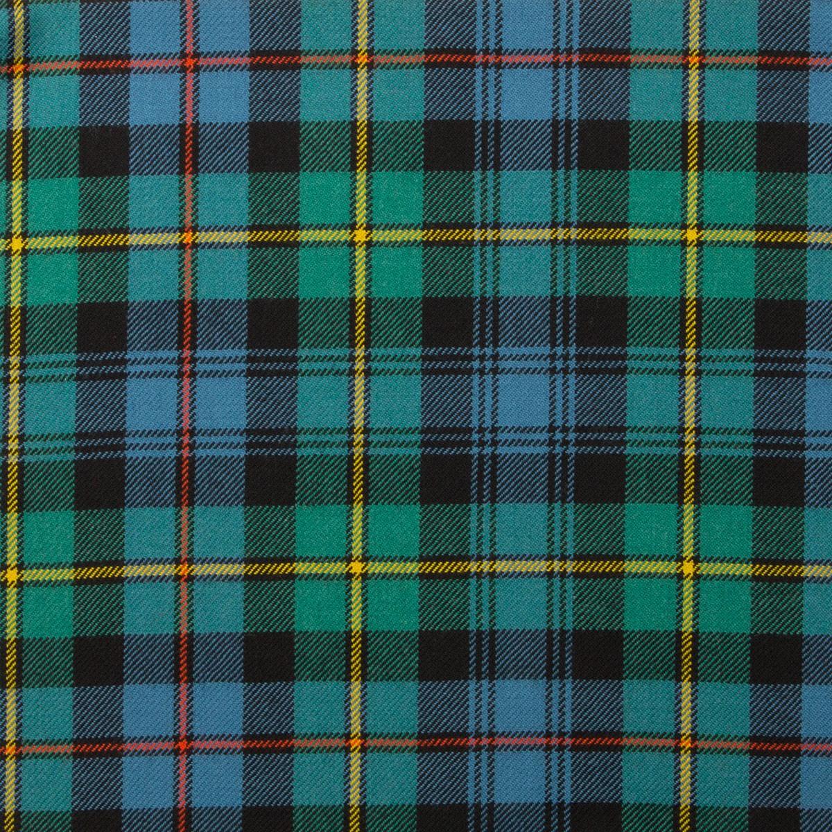 Baillie Ancient Light Weight Tartan Fabric-Front