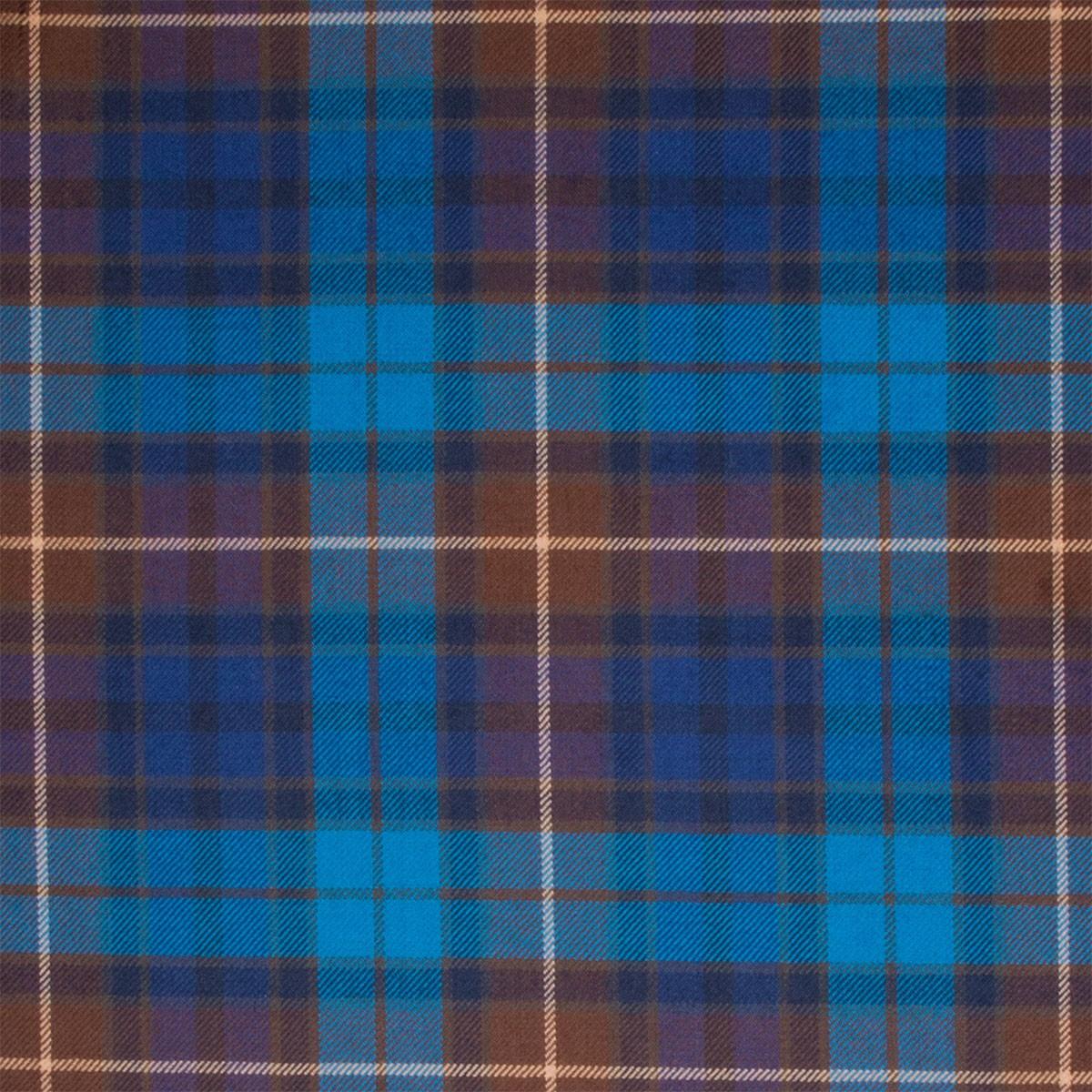 Buchanan Blue Light Weight Tartan Fabric