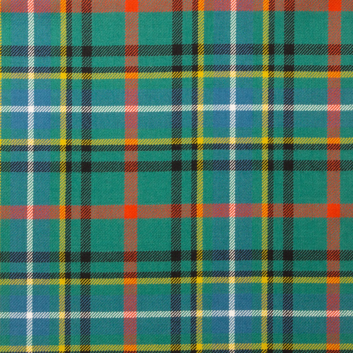 Bisset Ancient Light Weight Tartan Fabric-Front