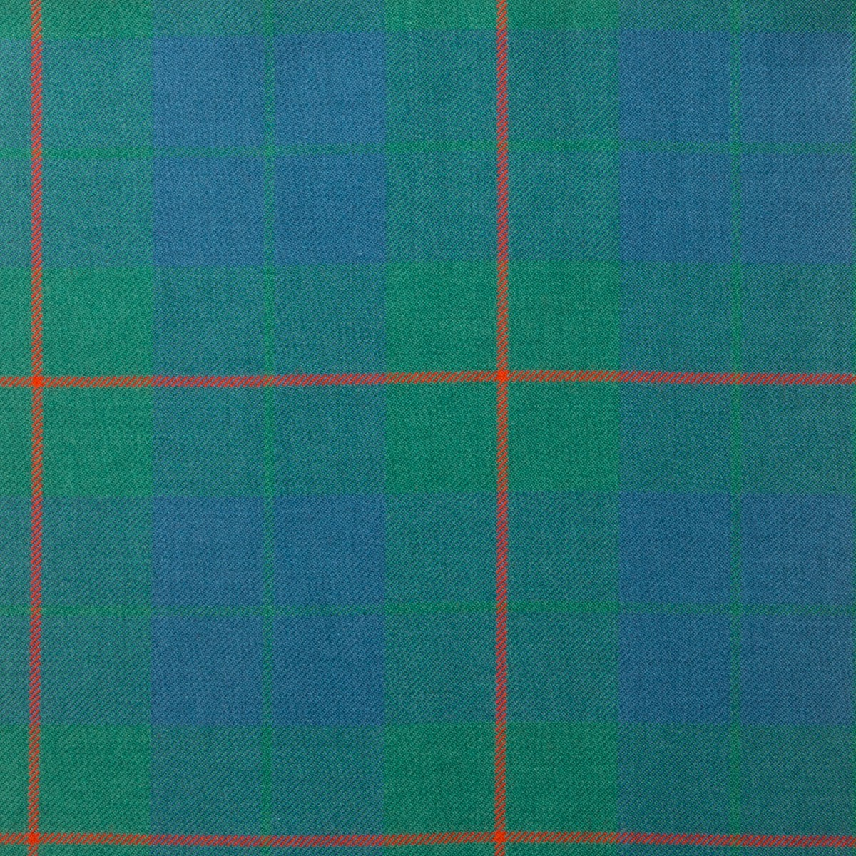 Barclay Hunting Light Weight Ancient Tartan Fabric-Front