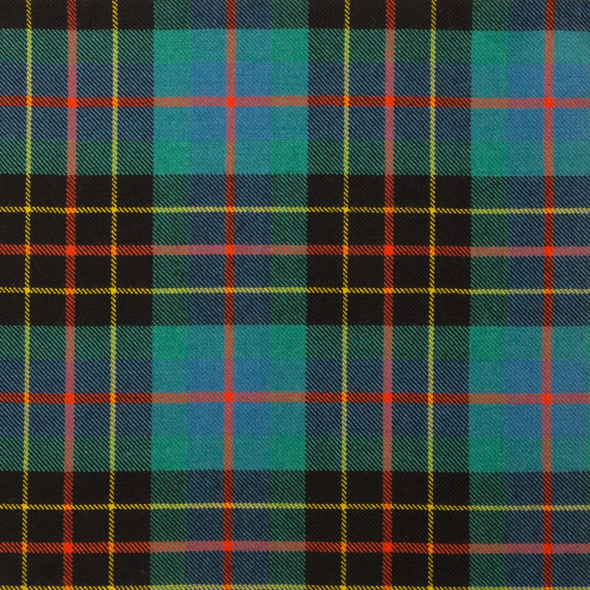 Brodie Hunting Light Weight Ancient Tartan Fabric-Front