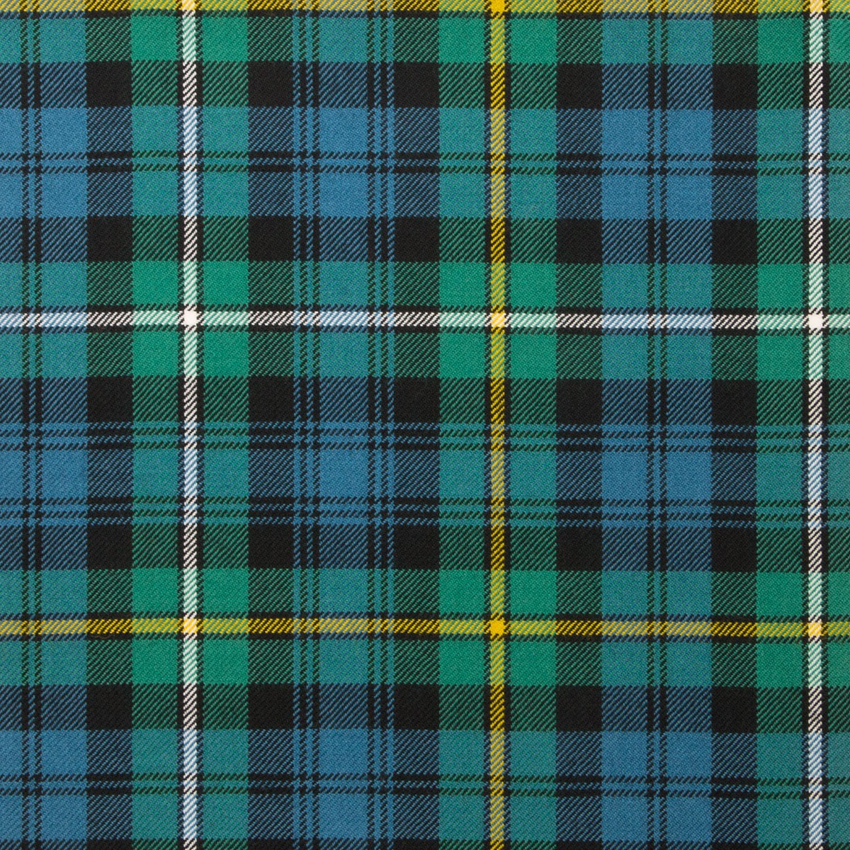 Campbell of Argyll Ancient Light Weight Tartan Fabric-Front