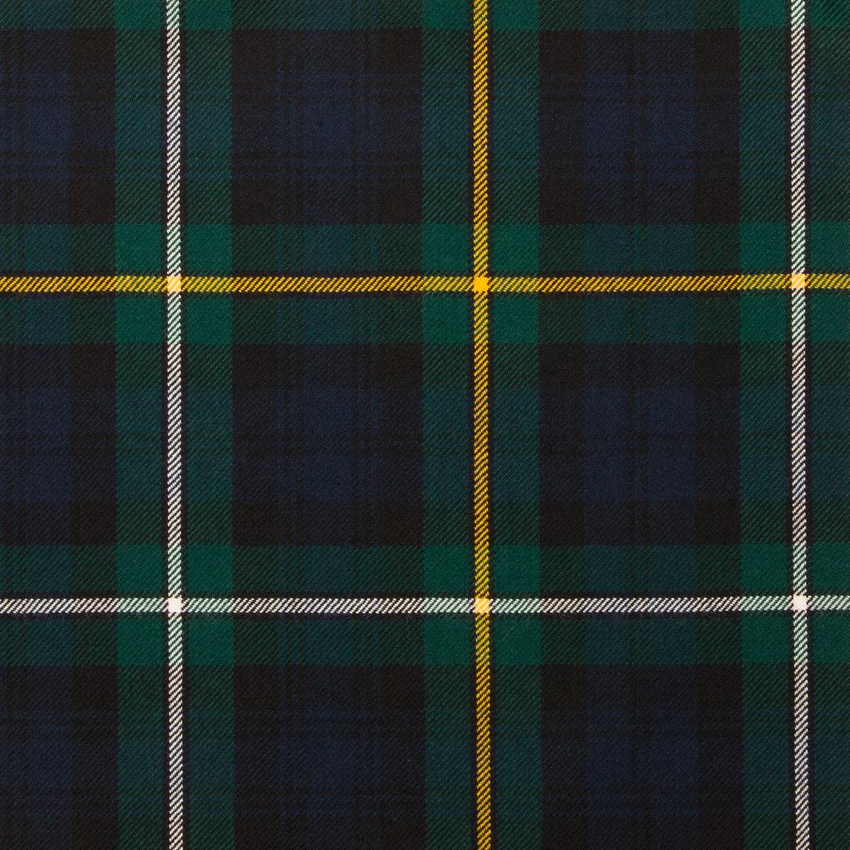 Campbell of Argyll Modern Light Weight Tartan Fabric-Front