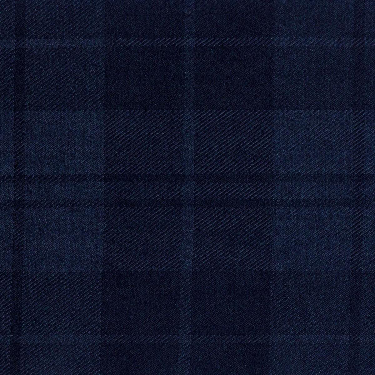 Douglas Dark Navy Light Weight Tartan Fabric