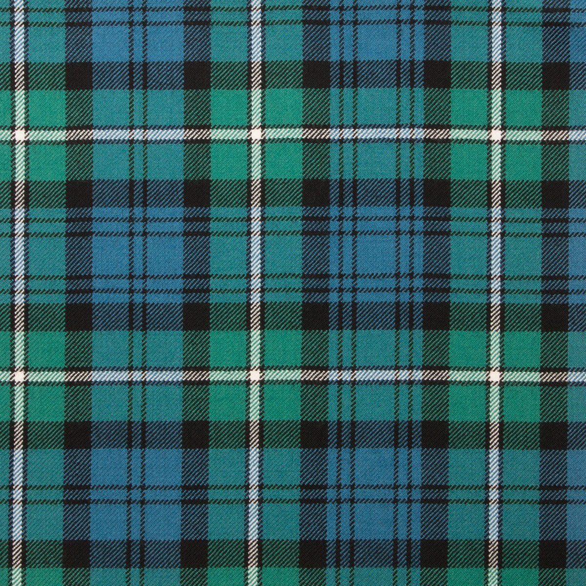 Forbes Ancient Light Weight Tartan Fabric-Front