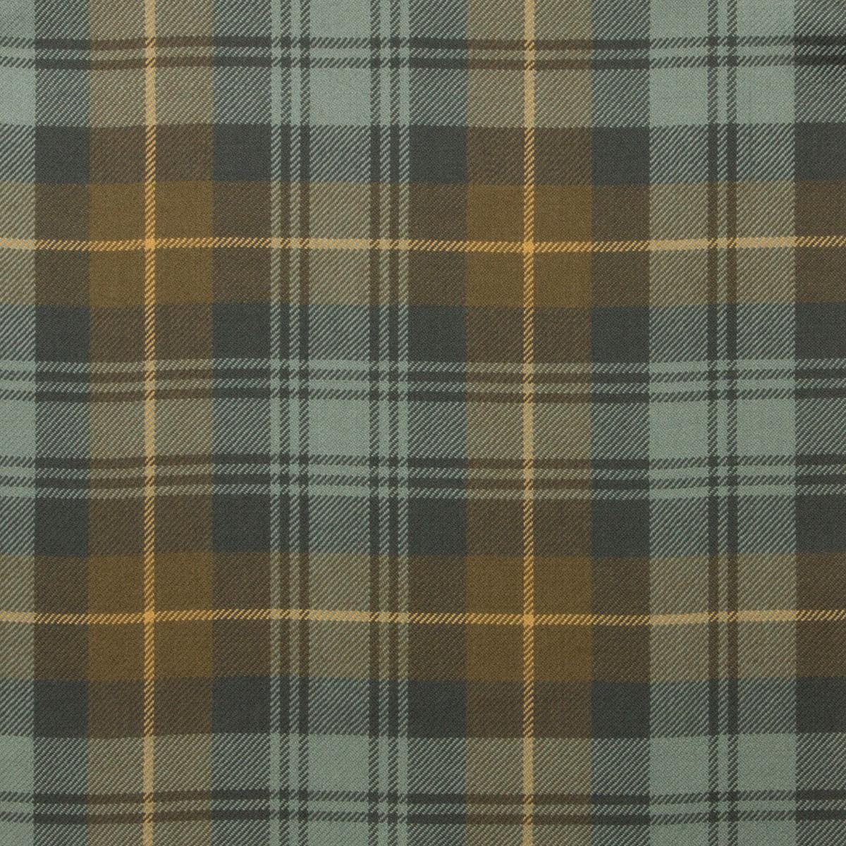 Gordon Clan Weathered Light Weight Tartan Fabric-Front