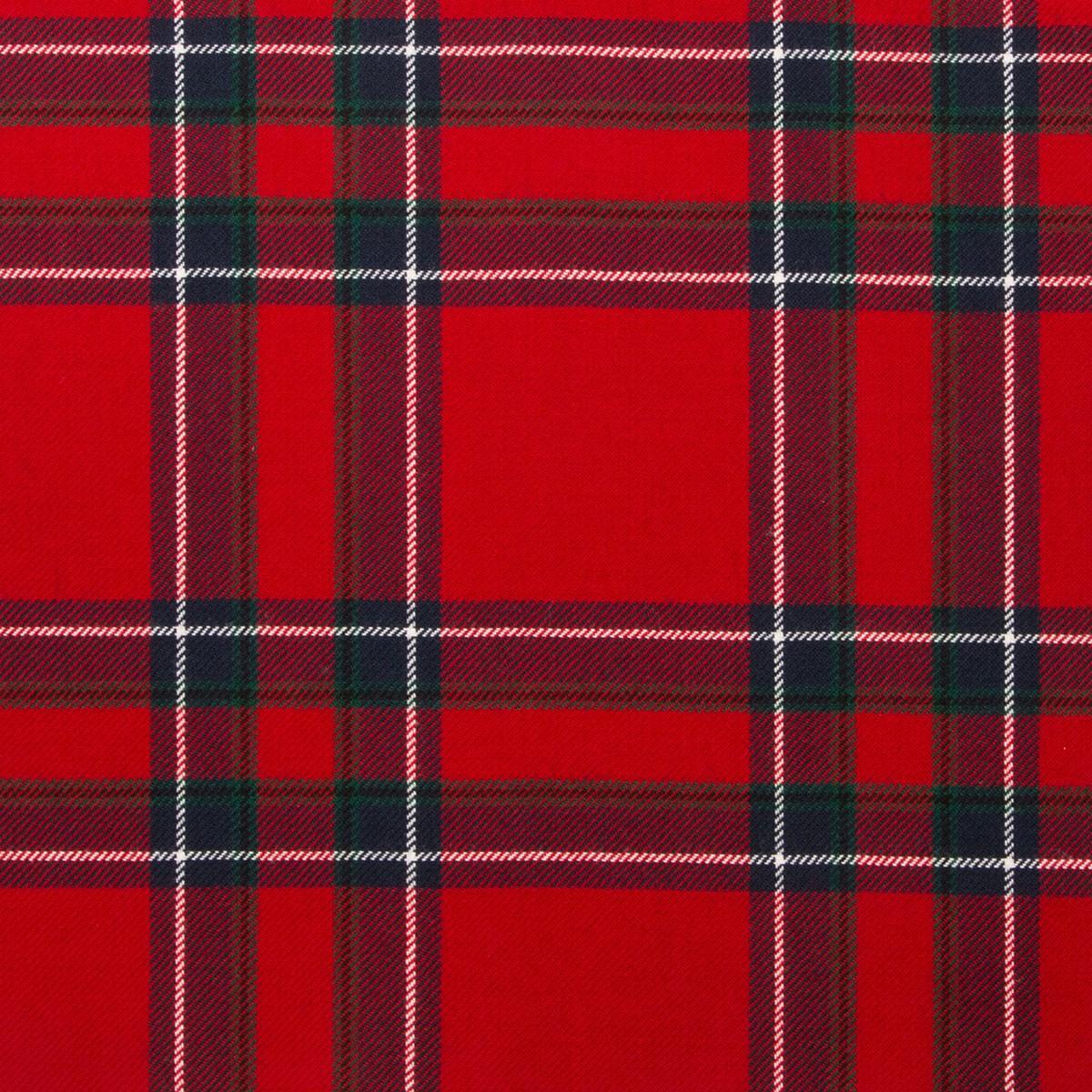 Inverness Modern Light Weight Tartan Fabric-Front