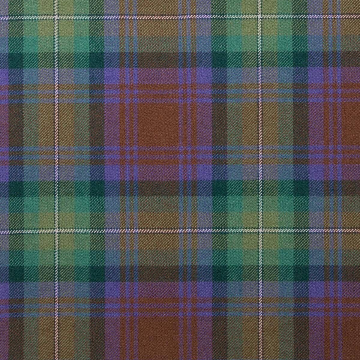 Isle of Skye Light Weight Tartan Fabric-Front