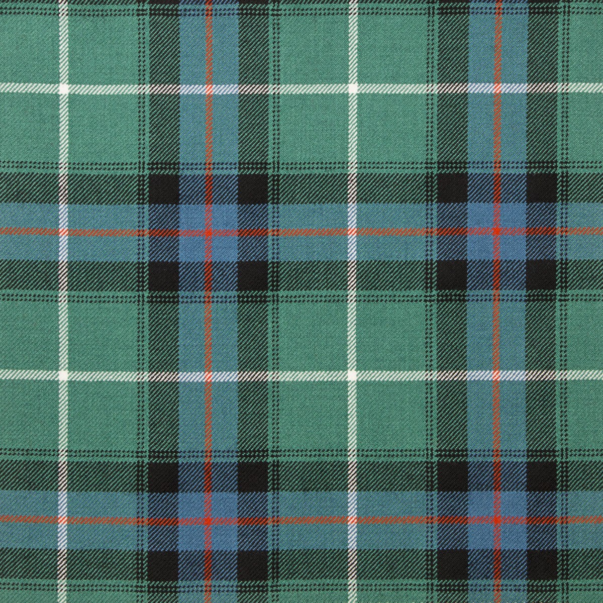 MacDonald of the Isles Hunting Ancient Light Weight Tartan Fabric-Front