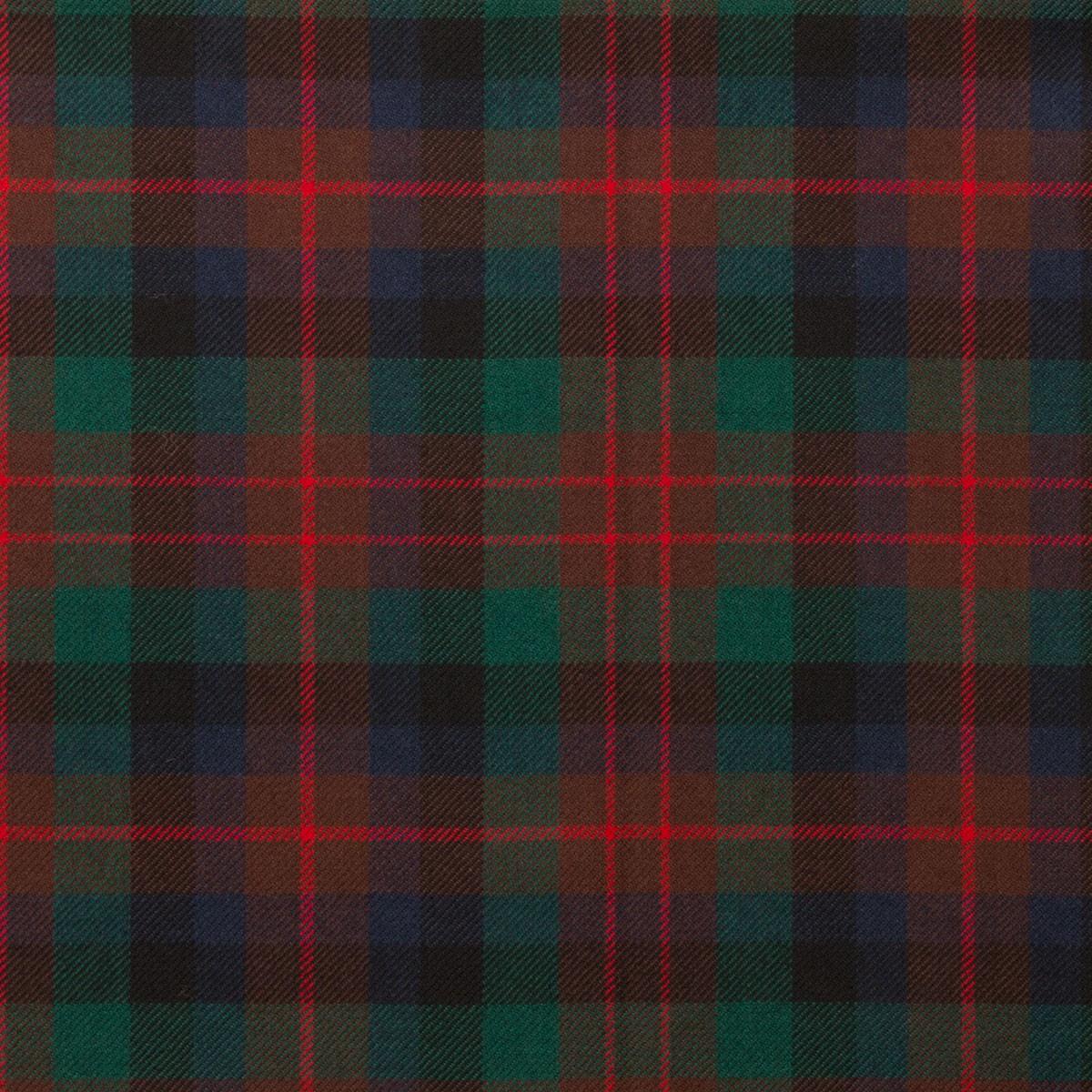 Macduff Hunting Modern Light Weight Tartan Fabric-Front