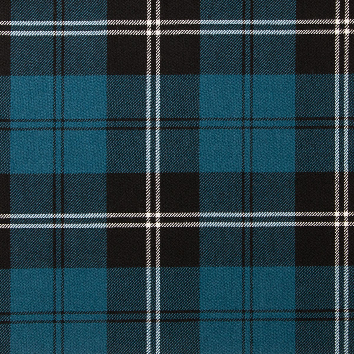 Ramsay Blue Ancient Light Weight Tartan Fabric-Front