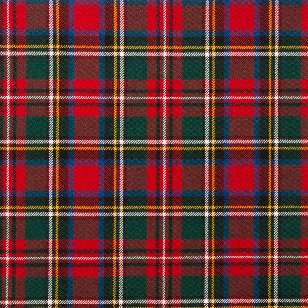 Stewart Prince Charles Edward Modern Light Weight Tartan Fabric-Front
