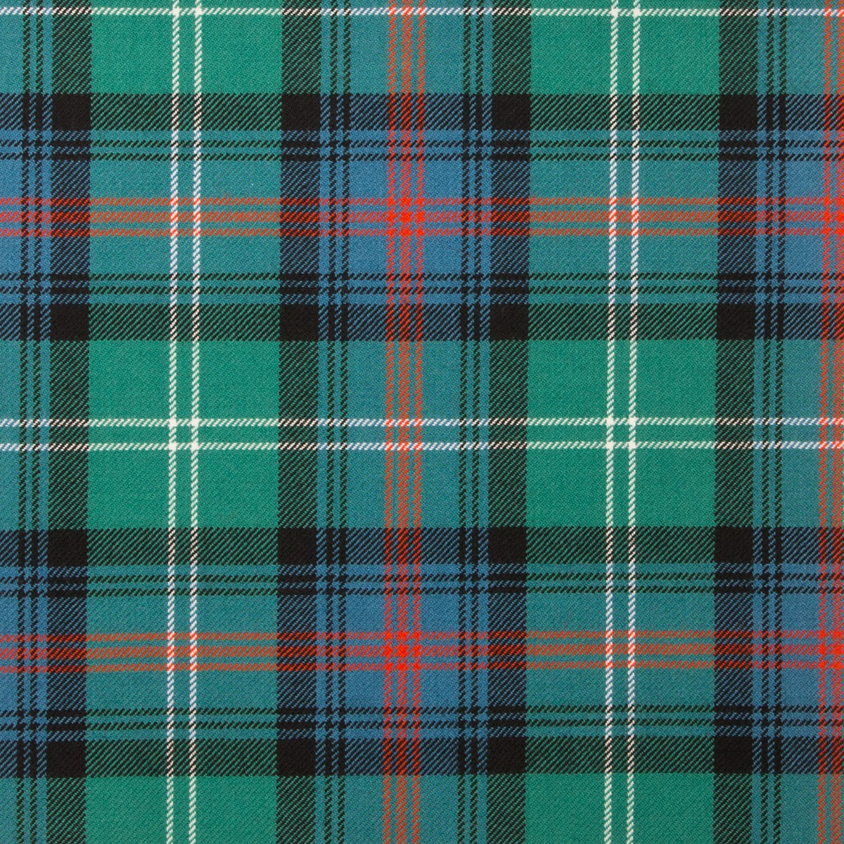 Sutherland Old Ancient Light Weight Tartan Fabric-Front