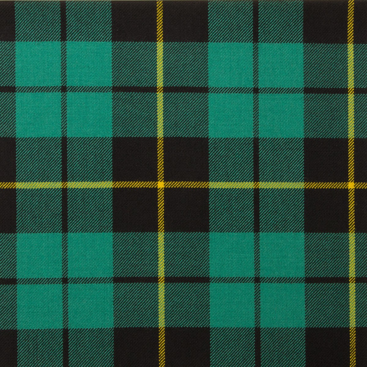 Wallace Hunting Ancient Light Weight Tartan Fabric-Front