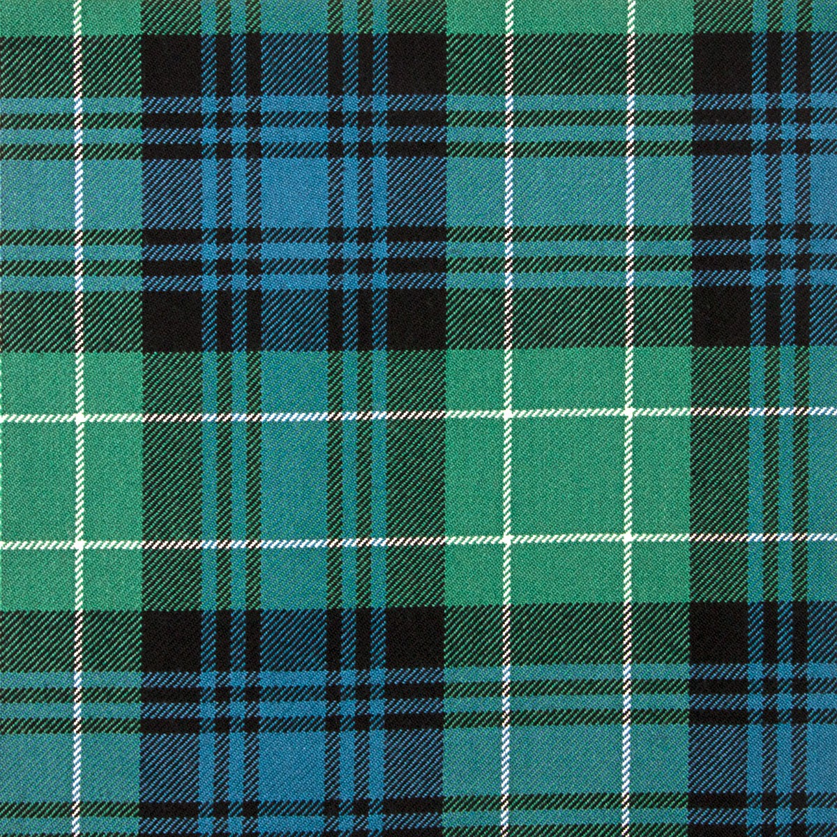Abercrombie Ancient Heavy Weight Tartan Fabric-Front