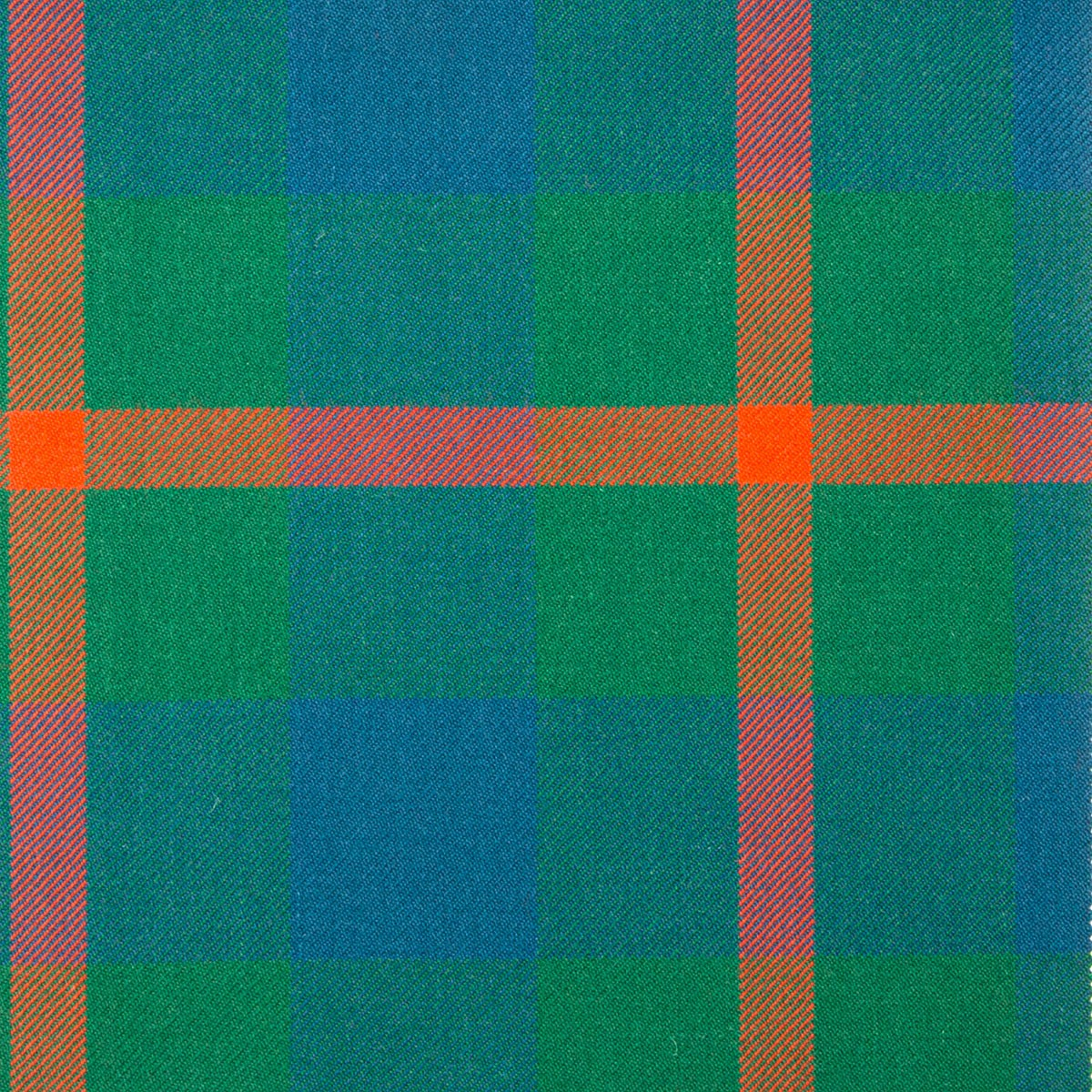 Agnew Ancient Heavy Weight Tartan Fabric-Front