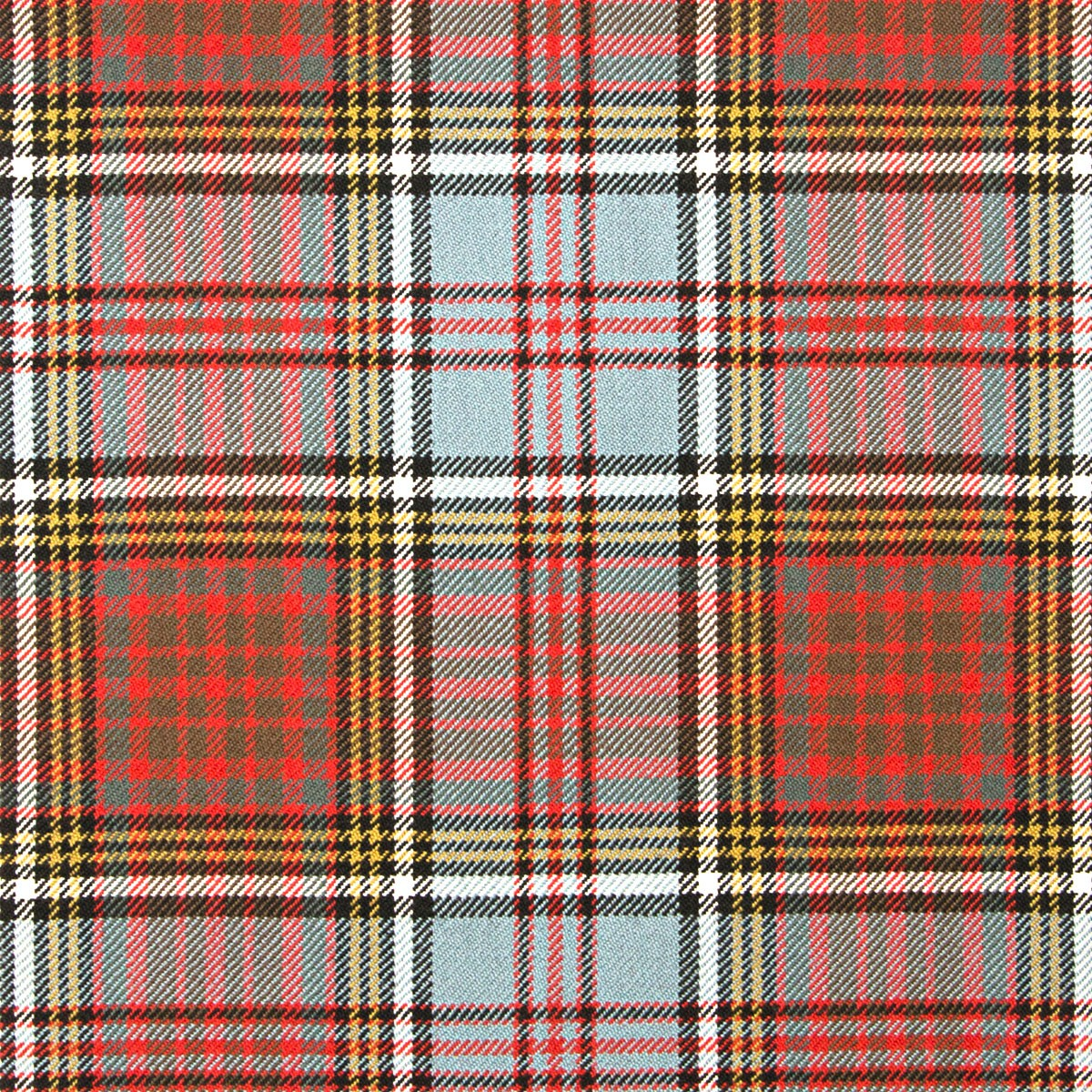 Anderson Weathered Heavy Weight Tartan Fabric-Front
