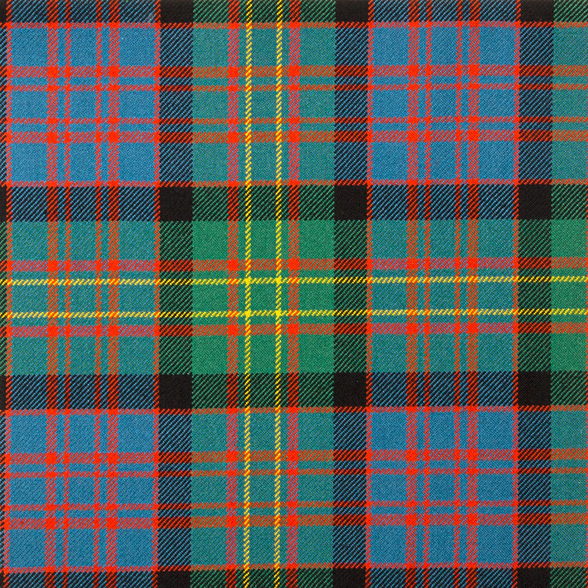 Bowie Ancient Heavy Weight Tartan Fabric-Front