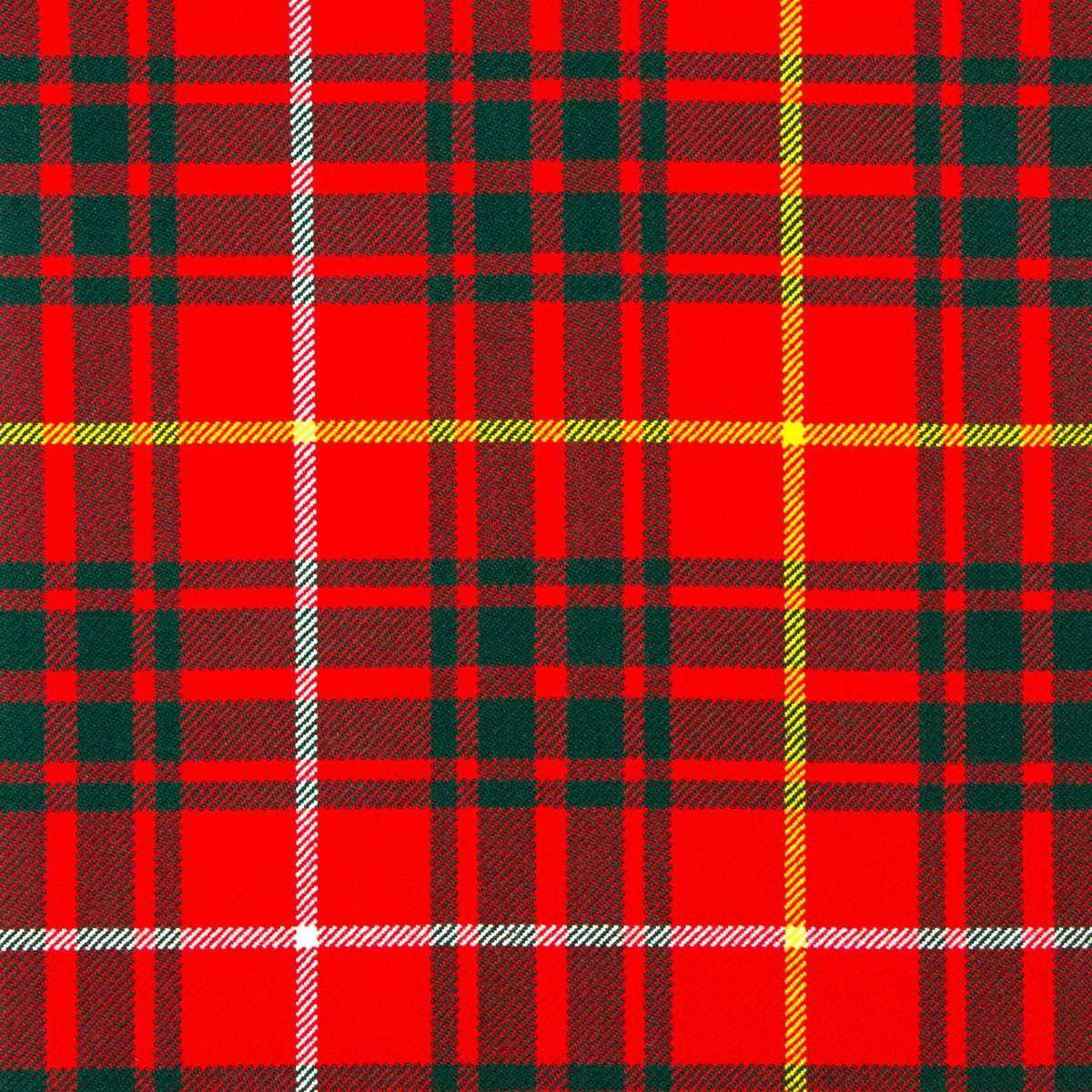 Bruce Modern Heavy Weight Tartan Fabric-Front