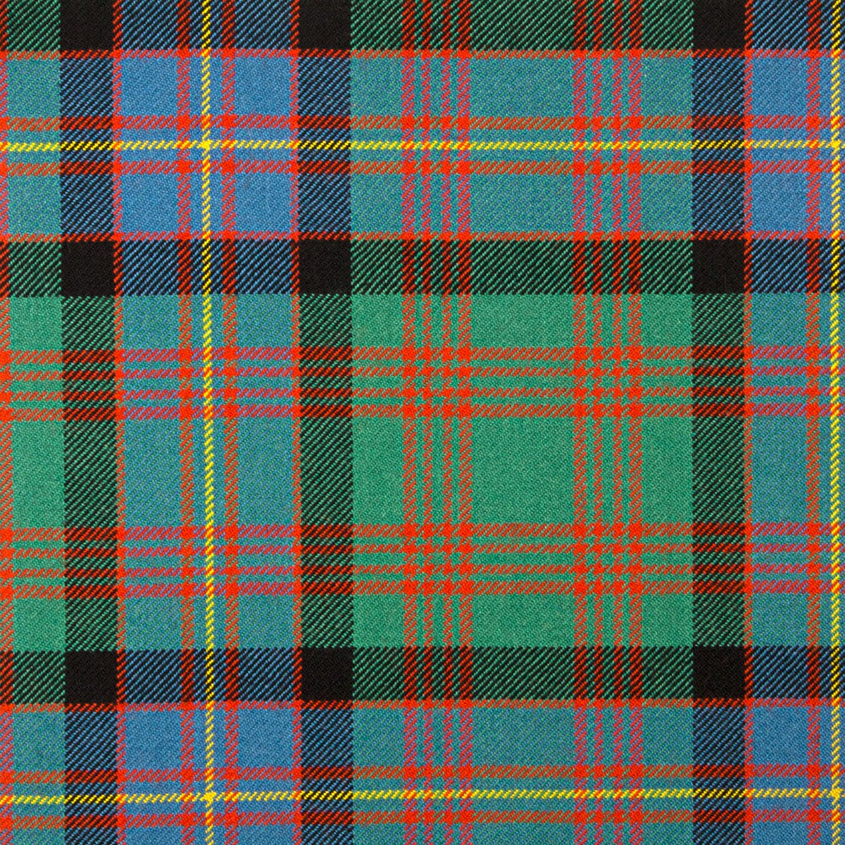 Cochrane Ancient Heavy Weight Tartan Fabric-Front