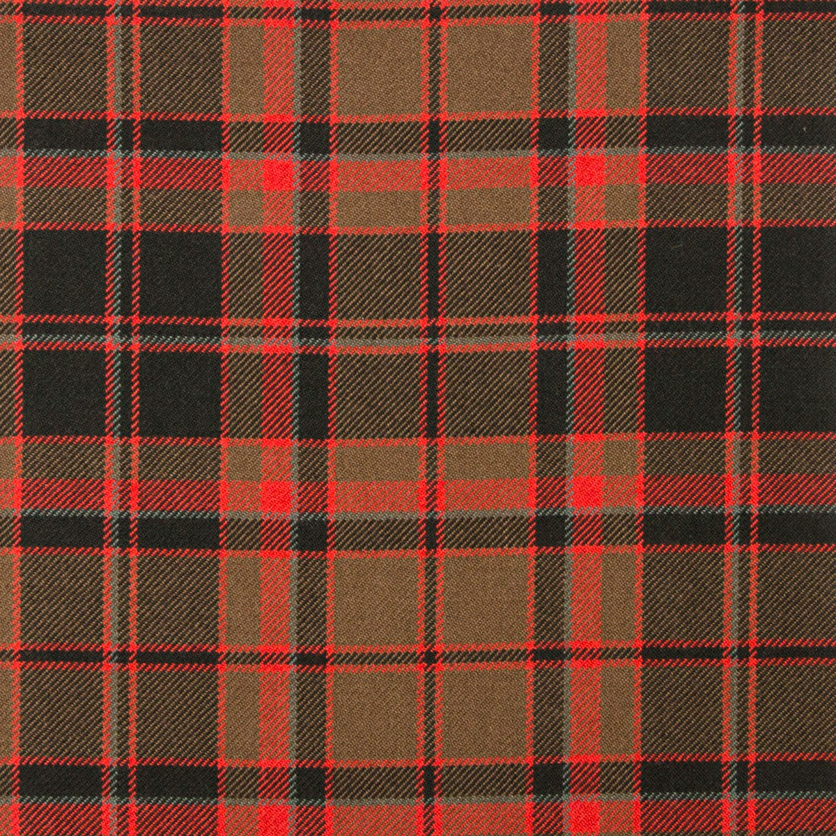 Cumming Hunting Weathered Heavy Weight Tartan Fabric-Front