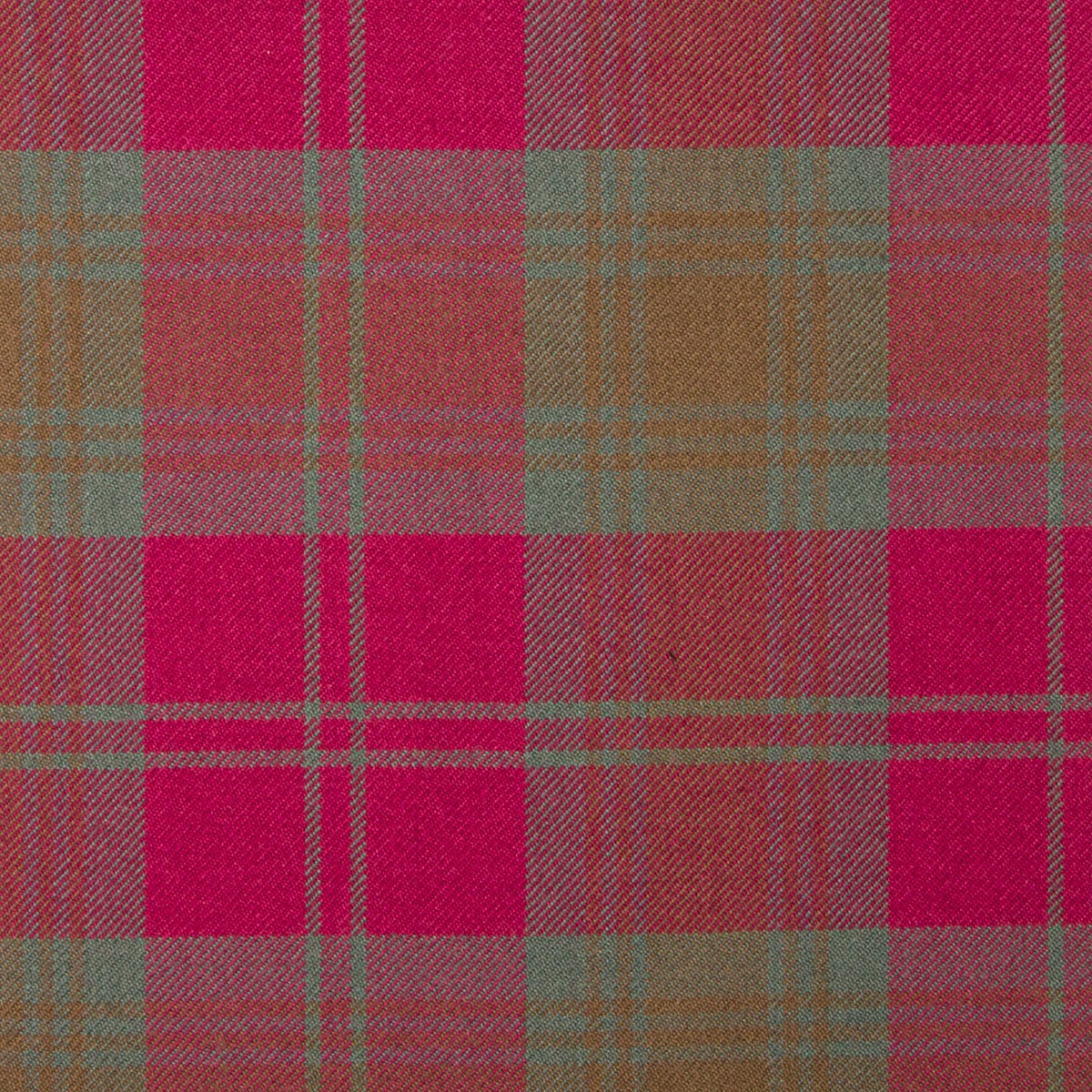 Lindsay Weathered Heavy Weight Tartan Fabric-Front