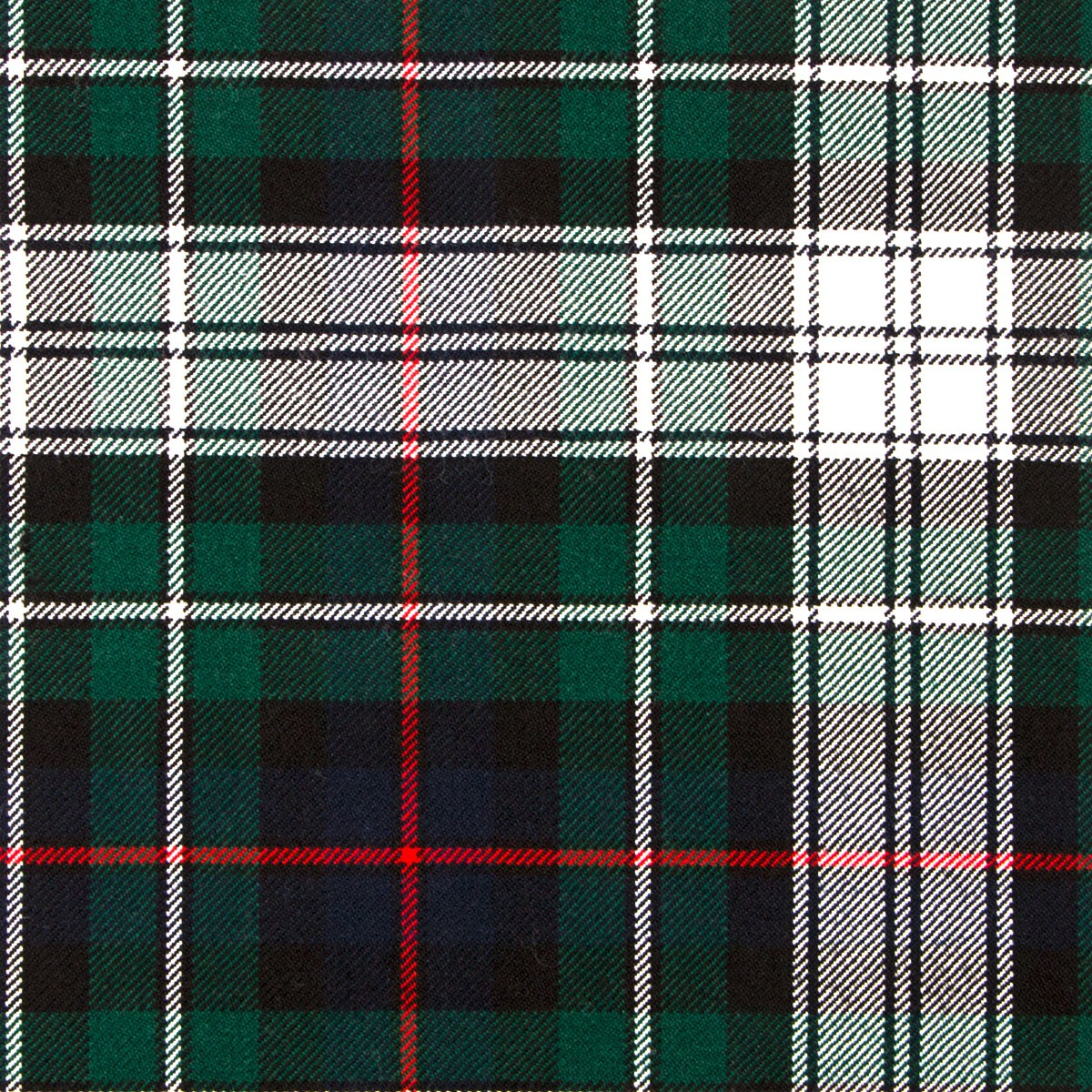 MacKenzie Dress Modern Heavy Weight Tartan Fabric-Front