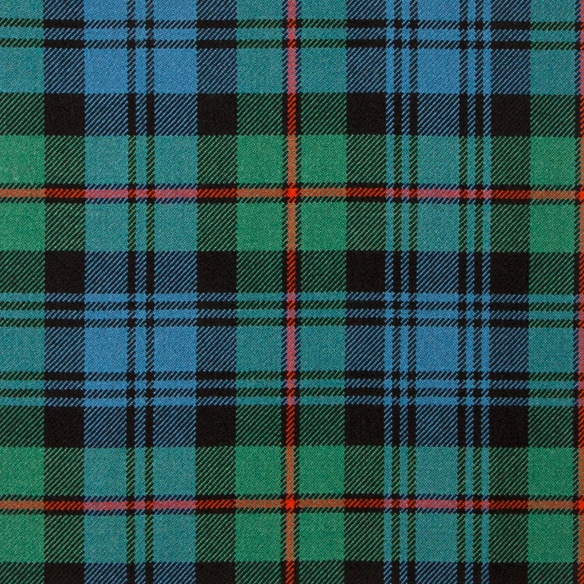 MacKinlay Ancient Heavy Weight Tartan Fabric-Front