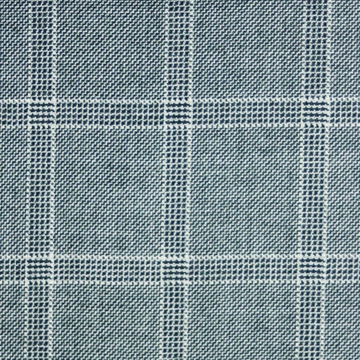 Dornoch Check Tweed Light Weight Fabric-Front
