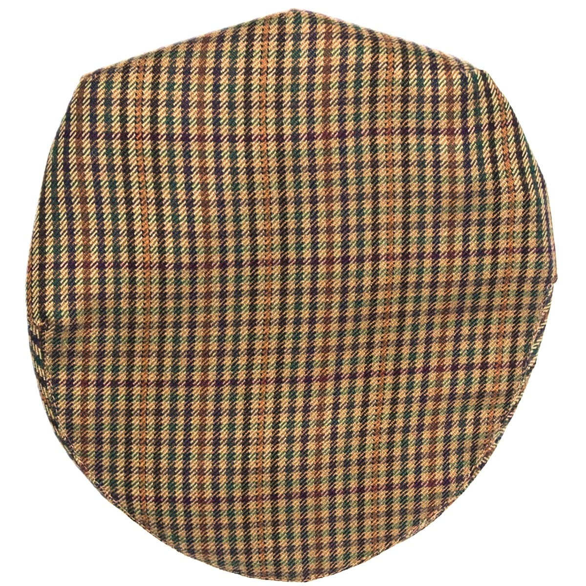Ednam Check Tweed Barnton Flat Cap