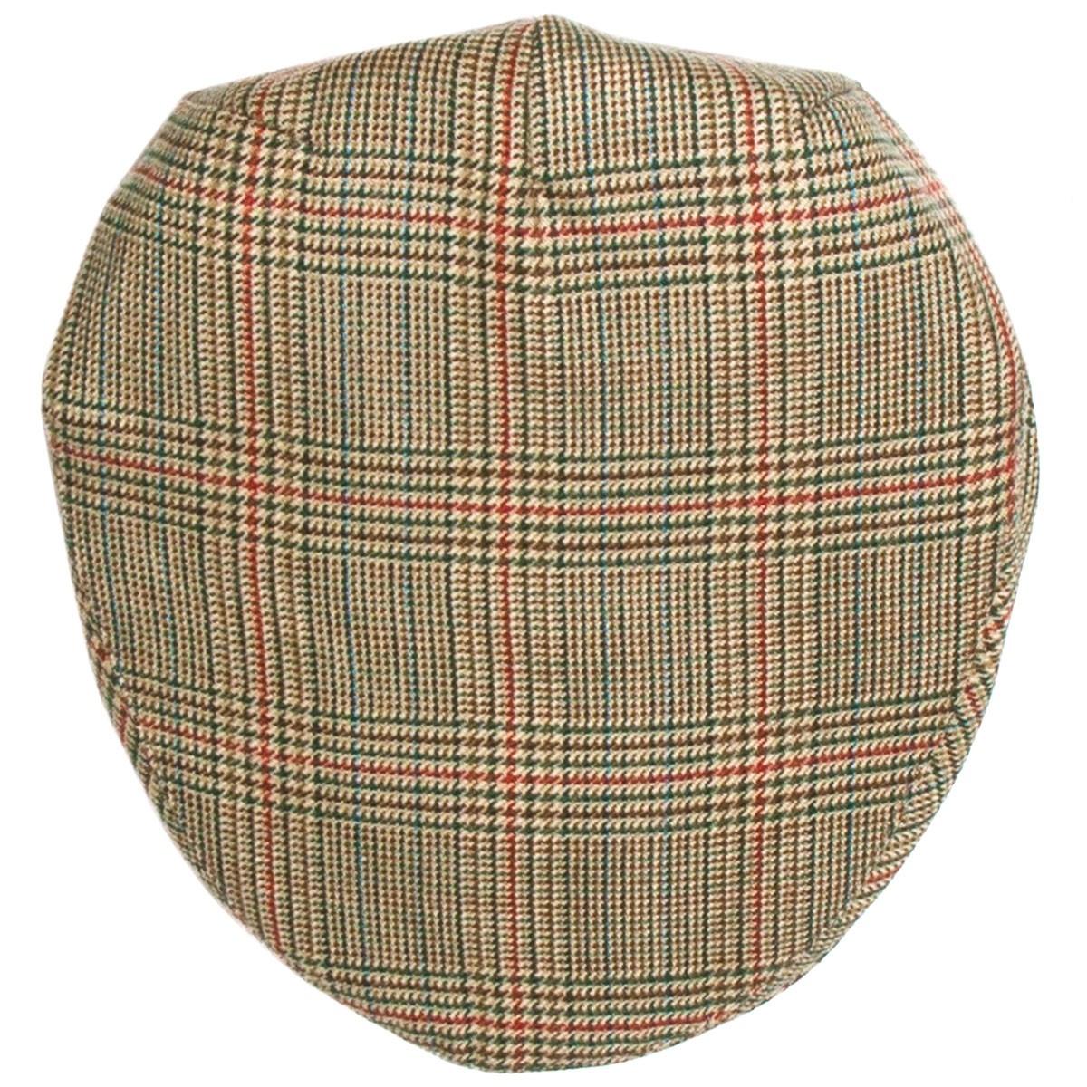 Minto Check Tweed Barnton Flat Cap