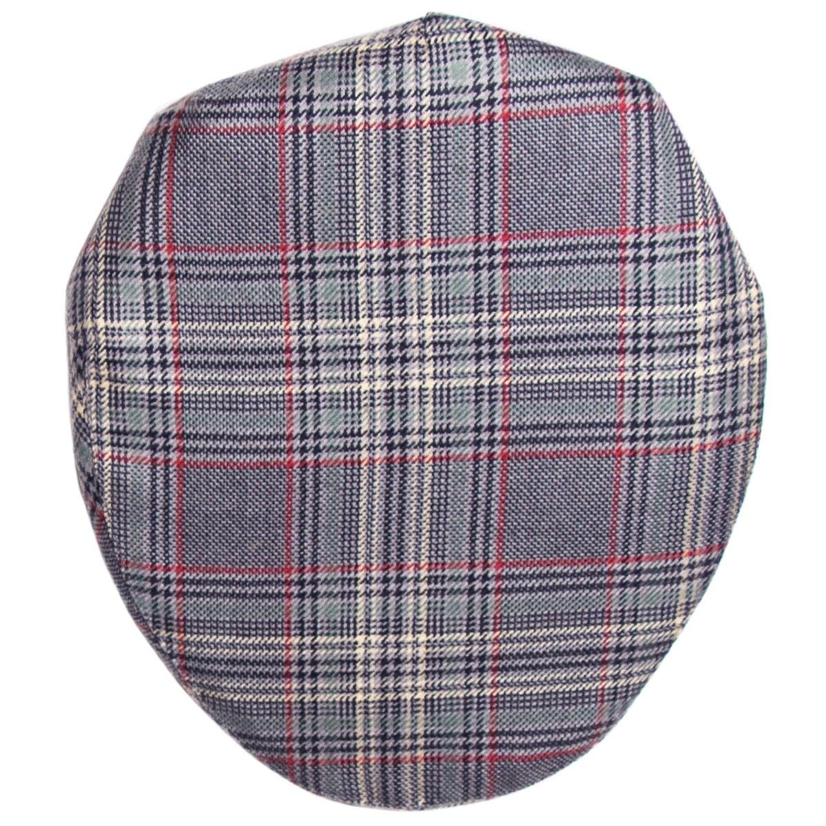 Plockton Check Tweed Barnton Flat Cap
