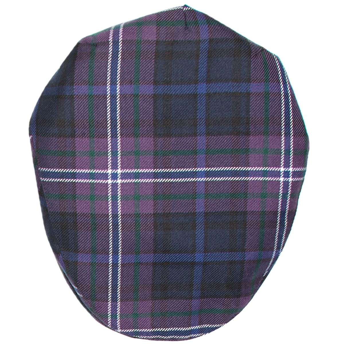 Scotland Forever Tartan Barnton Flat Cap Top
