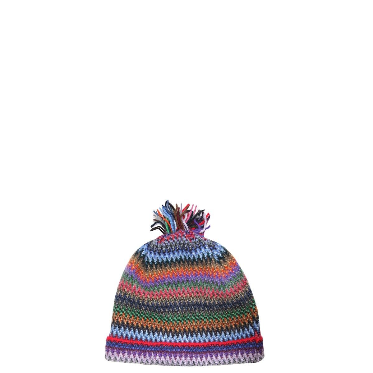 Tropic Faith Wool/Angora Knitted Hat