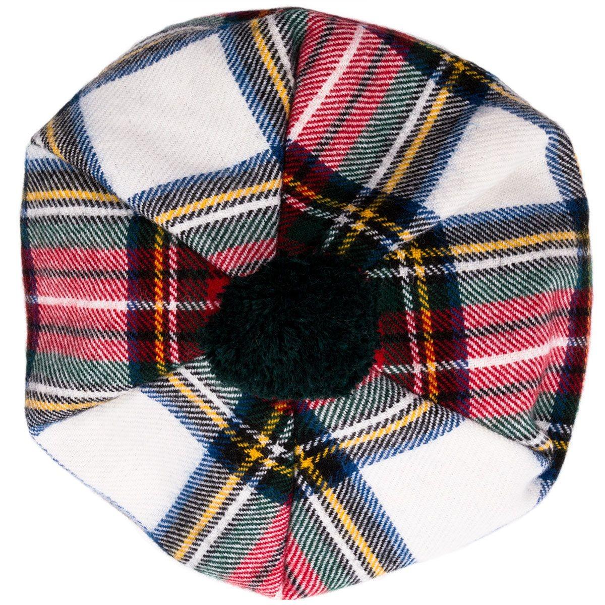 Stewart Dress Modern Brushed Wool Tam - Top