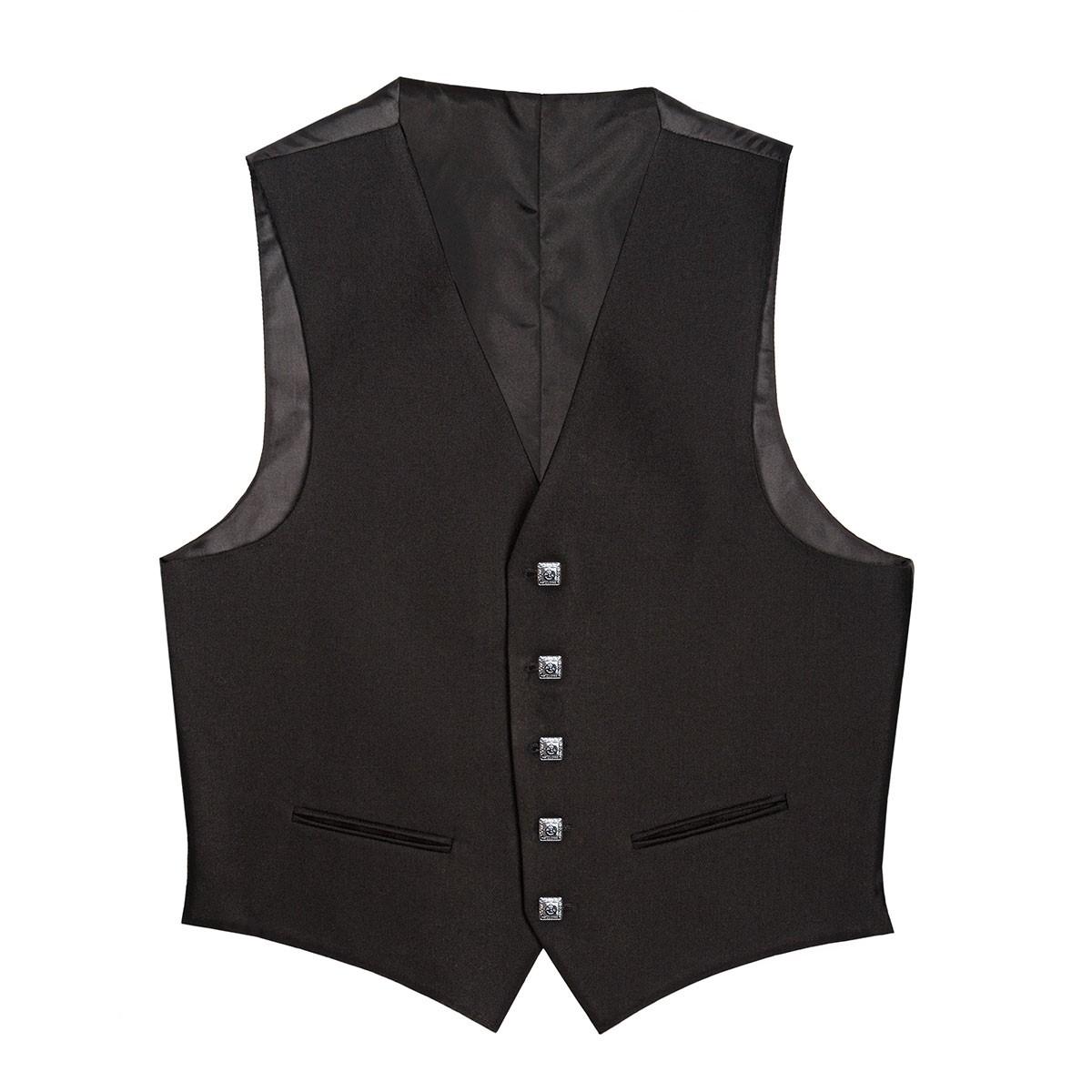 Barathea 5 Button Kilt Waistcoat